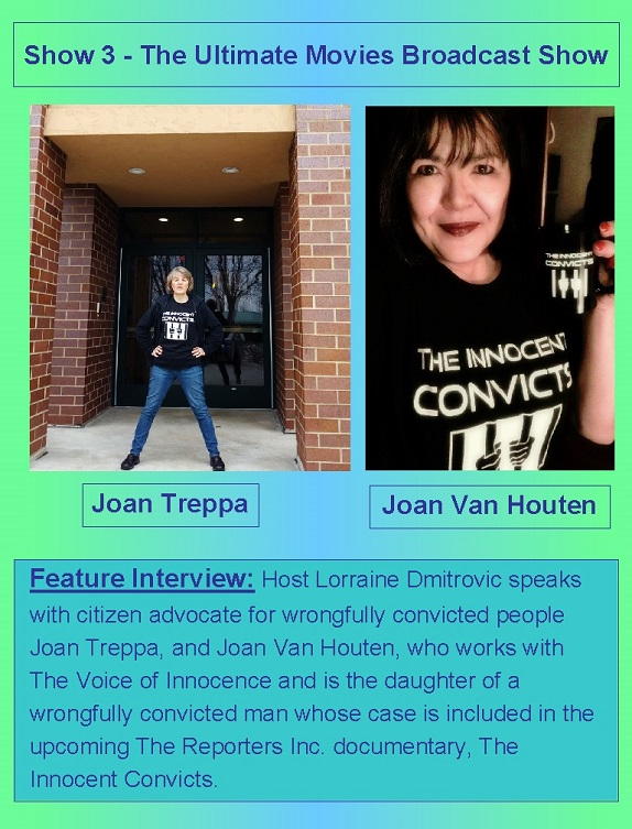 Show 3 Ultimate Movies Broadcast Show-feature int Joan Treppa Joan Van Houten-two