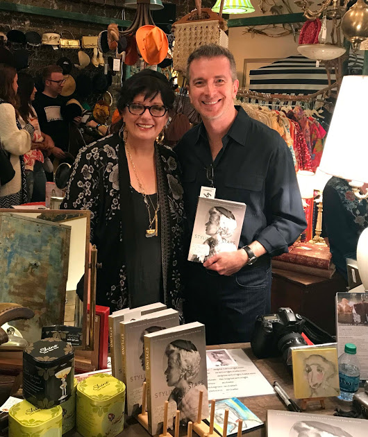 Insight Editions - DONE Tom and Angela at the Giddy's grand opening and their book-signing for STS
