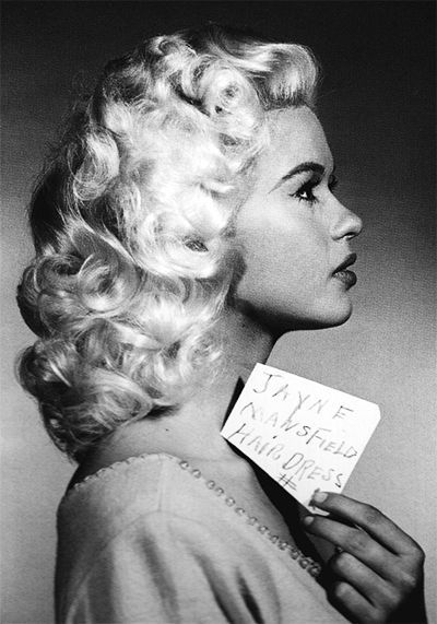 Insight Editions - STS - DONEJayne Mansfield hair tests for Will Success Spoil Rock Hunter (1957) (400x571)